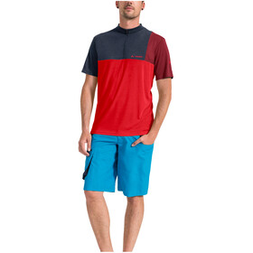 VAUDE Tremalzo V Shirt Men mars red